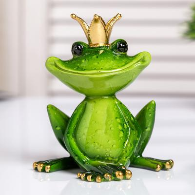 Лягушка-царевна, 11,5х10,5х7 см