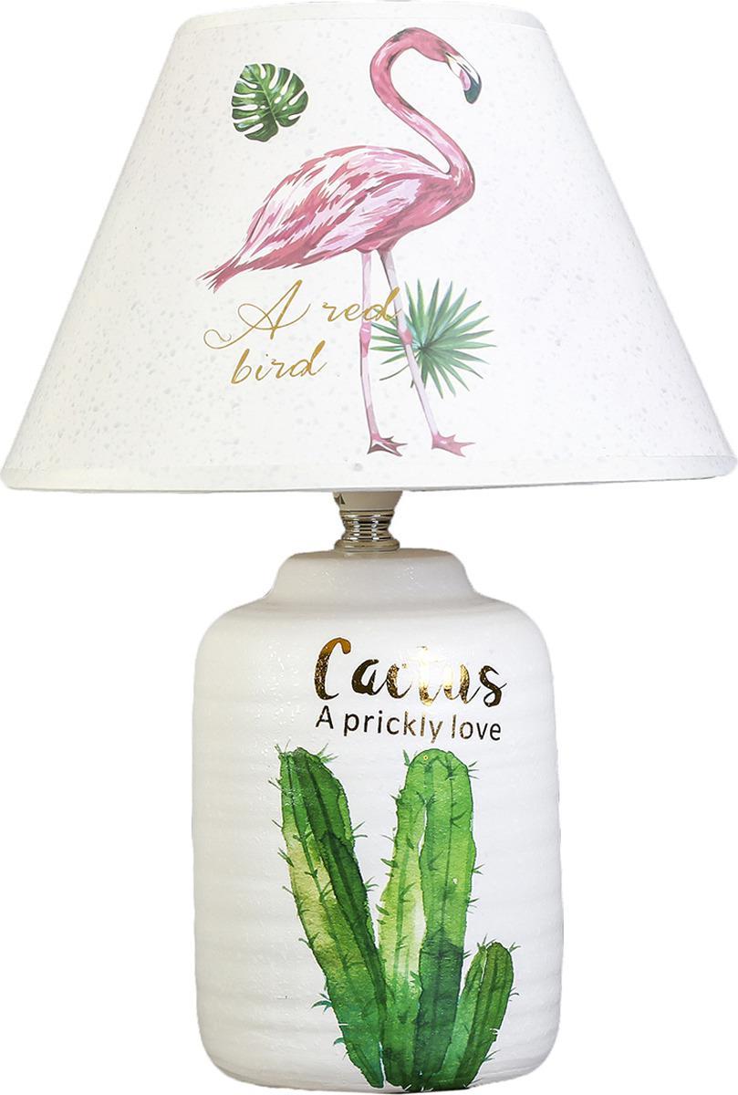 Лампа настольная керамика