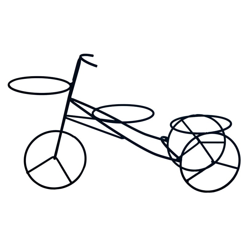 "Кашпо декоративное ""Велосипед"""