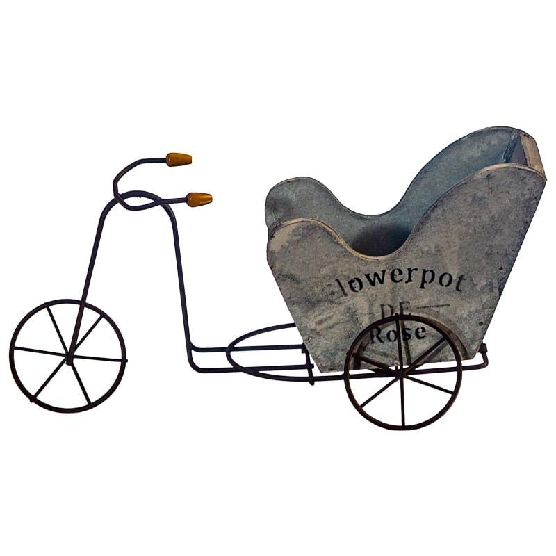 """Кашпо """"Велосипед"""", 24*9*12 см"""