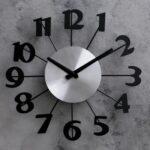 """Часы настенные """"Большие цифры"""""""